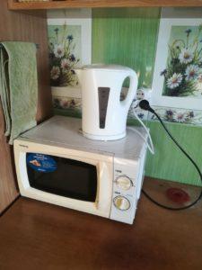 Квартира посуточно - чайник, микроволновка и пр.